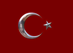 Largest Most Detailed Map and Flag of Turkey Travel Around The