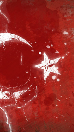 Political digital art turkish flag wallpapers