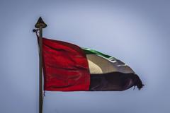 bianca blu cielo dubai emirates nero rosso united arab