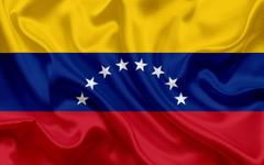 wallpapers Venezuelan flag Venezuela national flag silk