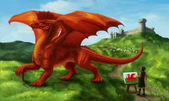 Flag Wales Dragon Wallpapers