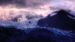Daily Wallpaper Glacier Sunrise in Alaska