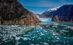Glacier Bay Alaska mountains glaciers ice wallpapers