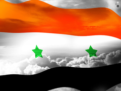 Syrian Flag Backgrounds For PowerPoint