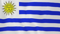 Uruguay Flag Wallpapers for Android