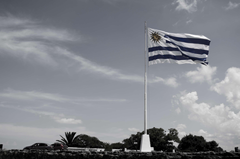 america clouds flag flag pole sky uruguay 4k wallpapers and