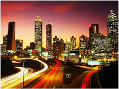Atlanta Bright Skyline wallpapers