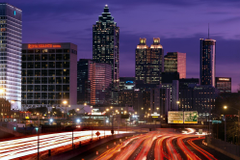 Atlanta georgia dusk wallpapers