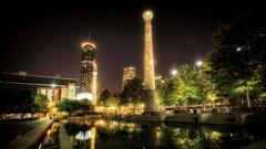 Atlanta Park Nights Wallpapers