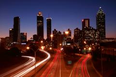 Park Centennial Atlanta Night Wallpapers
