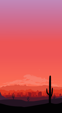 I created an iPhone wallpapers for your city phoenix
