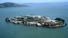 Alcatraz Island in San Francisco California US Points of Interest
