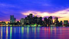 Boston Skyline Wallpapers