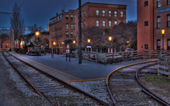 Boston locomotive railway city christmas h wallpapers