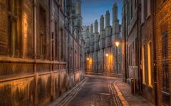 Trinity Lane street in Cambridge HD Wallpapers
