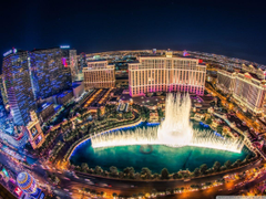 Bellagio Fountain Show HD desktop wallpapers Widescreen High