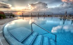 Live Aqua Resort Pool Cancun Mexico widescreen wallpapers