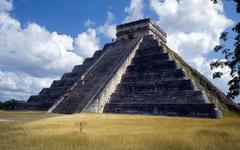 wallpaper Chichen Itza Yucatan Mexico