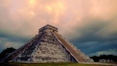 Chichen Itza Yucatan State Mexico built by Maya People