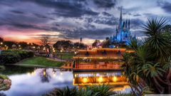 Disneyland Park 4K HD Desktop Wallpapers for 4K Ultra HD TV Dual