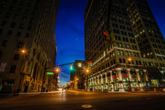 Nice City Street At Night On Apartment With Wallpapers USA Roads