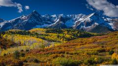 Mountain Landscape In Aspen Colorado 4K HD Desktop Wallpapers for