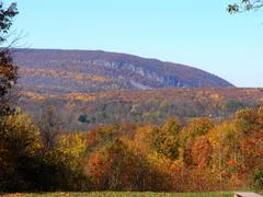 Mountain Delaware Water Gap Oct Pa Mountian Fall Leaves Wallpapers