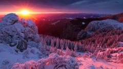 Winter Chatfield Boulders Connecticut Hollow Trails Season Winter