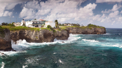 Sea Breeze Dominican Republic Cabrera Cliffs widescreen