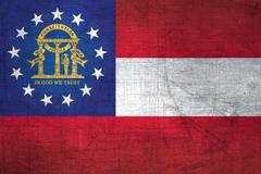 Georgian Flag Metal