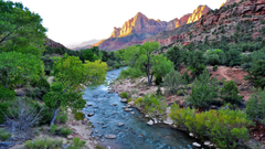 Wondeful Nature Tourist Place Wallpapers of Zion National Park in
