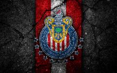 wallpapers 4k Guadalajara FC logo Liga MX football