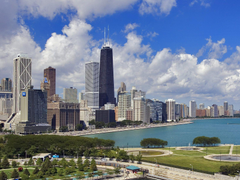 The Gold Coast of Chicago Illinois Wallpapers