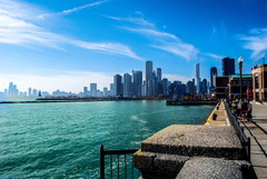 Michigan Chicago River gorod illinois wallpapers