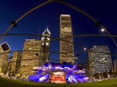 Pavilion Millennium Park Chicago Illinois Wallpapers