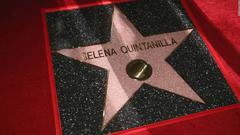 Selena Quintanilla honored on Hollywood Walk of Fame