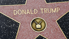 Trump s Hollywood star getting mixed reactions