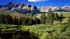 Landscapes nature Idaho Rocky Mountains wallpapers