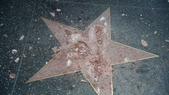 Donald Trump s Hollywood star destroyed