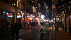 French quarter mardi gras night shot wallpapers