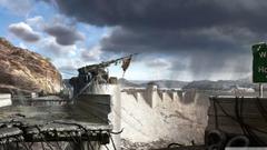 Fallout New Vegas Hoover Dam Concept Art HD desktop wallpapers