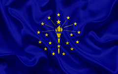 wallpapers Indiana Flag flags of States flag State of
