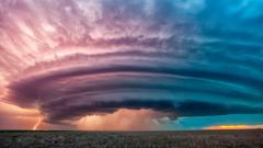 Kansas City Storm Clouds Landscape Photography Colorful