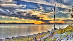 Clinton Lake Lawrence Kansas HD Desktop Wallpapers Widescreen