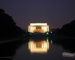 Tiger Woods At Lincoln Memorial Wallpapers Image