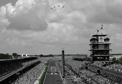 The Indianapolis Motor Speedway located in Speedway Indiana HD