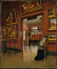 Interior View of The Metropolitan Museum of Art when in Fourteenth