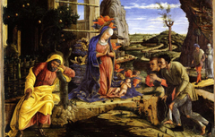 Wallpapers New York Andrea Mantegna Wood transposed on Canvas