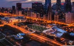 A View Of Millennium Park 4K HD Desktop Wallpapers for 4K Ultra HD