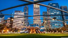 Pritzker Pavilion Millennium Park Chicago Illinois The Jay Wallpapers
